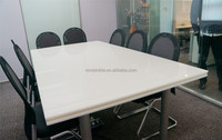 counter design quartz dining table,high quality composite table tops