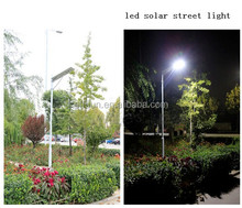 Integrated Solar Street Lighting Systems for Garden Parking lot, Airport