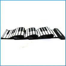 88 keys digital roll up piano,midi USB flexible keyboard,electronic roll-up piano