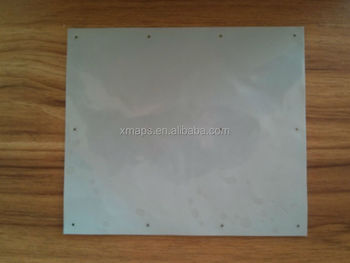 Large production thermal conductive silicone film