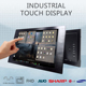 new design aoc monitor touch screen monitor with waterproof
