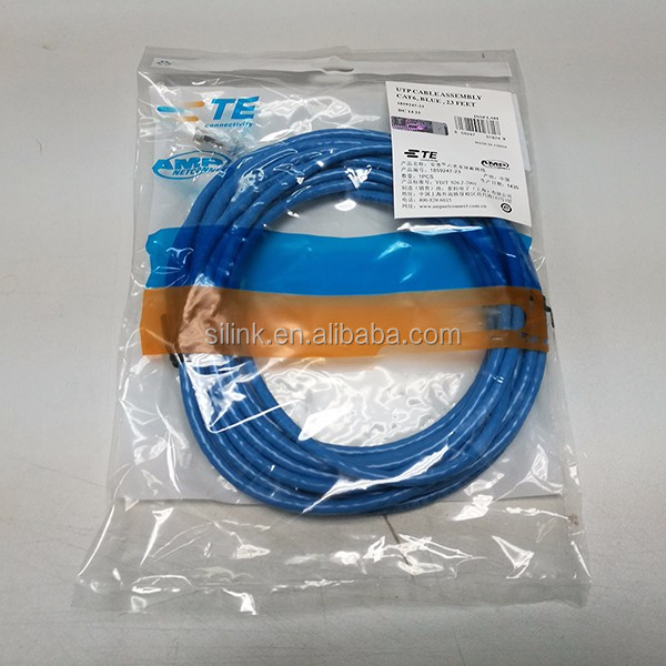 UTP 24AWG AMP Cat6 Patch Cord