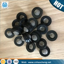 High pressure rubber washer filters / stainless steel hose filter screen washer