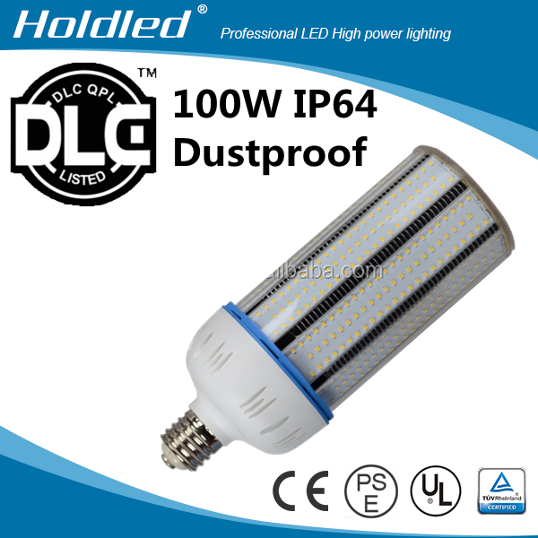 UL listed Super brightness 100w IP64 PC Cover led corn light bulb 5years warranty