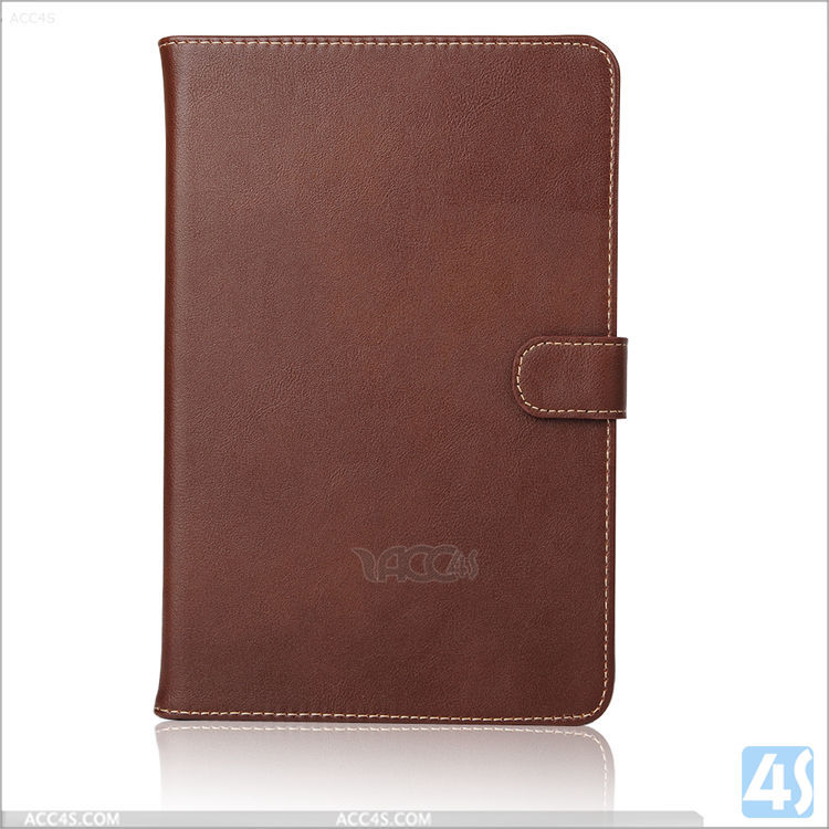 New fashion high quality deluxe high classical wholesale genuine leather case for ipad mini 4