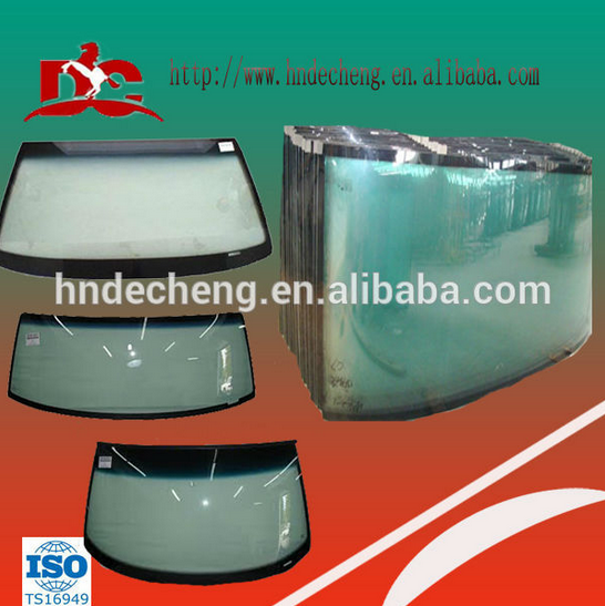 Chinese bus front windshield laminated front glass
