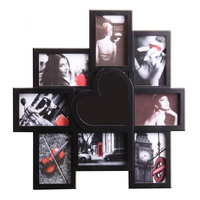 new style love mounted european photo frame collage pictures wall frame with hanging hook
