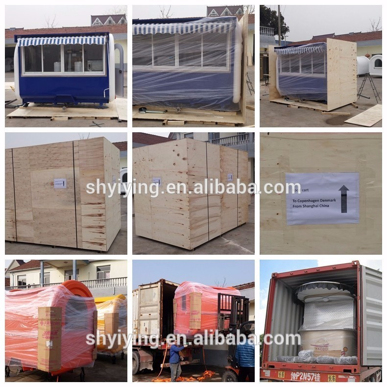 Bulk australia standard mobile food trailer for sale
