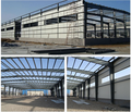 low cost Economic prefabricated house steel structure building/warehouse/workshop easy to instal