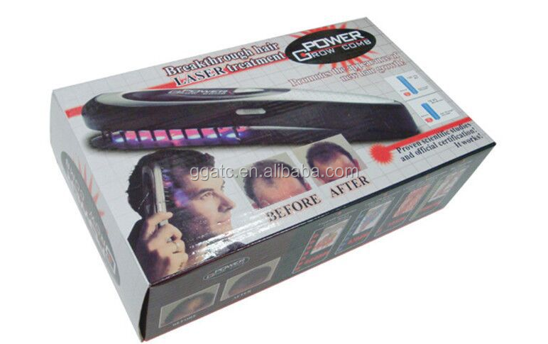 Hot new products for 2016 hair regrowth massage laser hair comb for people