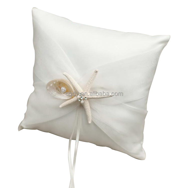 Ocean Theme Starfish Wedding ring pillow/wedding gift