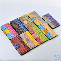 Colorful Young Style Magnet Buckle Wallet Leather Case Cover for iPhone 5C-- P-IPH5CCASE043