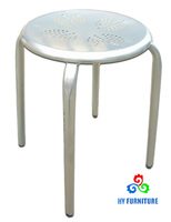 Multifunctional laboratory furniture all steel metal stacking stools