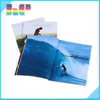high quality glossy or matt laminated/varnished high end magazine printing