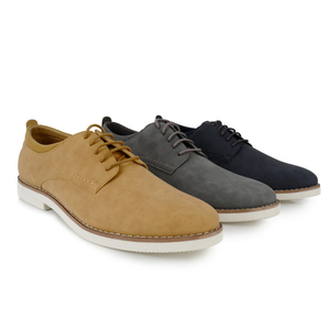 New trendy comfort flat lace-up ofifice men dress shoes
