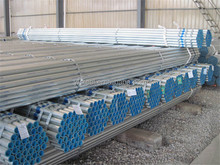 Tianjin Good quality bs1387 galvanized steel tube / carbon galvanized steel round pipe / hot dip galvanized steel pipe