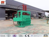 Coconut Palm Jute fiber baling machine/coconut firbe baler machine/coconut fiber sack and bale machine