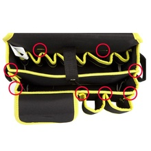 FREE SAMPLE FATORY PRICE Wholeasale Heavy Duty Husky Engineer Small Tote Garden Electrician Tool Bag,husky tool bag