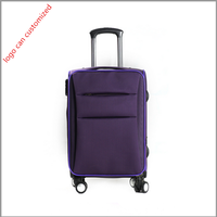 china supplier lightweight nylon material luggage tote bag for travel sky travel luggage bag