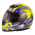 DOT Full Face Flip up Motorcycle Helmet Dual Visor Bike Race Size & Color DP-801