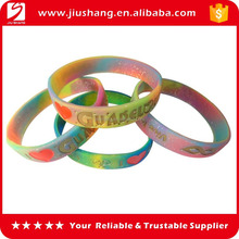 Colorful top brands silicone rubber bracelet
