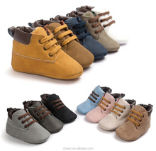 Top Selling High Quality New 3 Sizes 7 colors Unisex Non-slip Soft Sole Leather Tassel Toddler Prewalker Newborn Baby Shoes