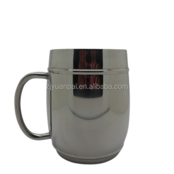 2015 luxury new products stainless steel mule copper mug beer mug cup with hadle