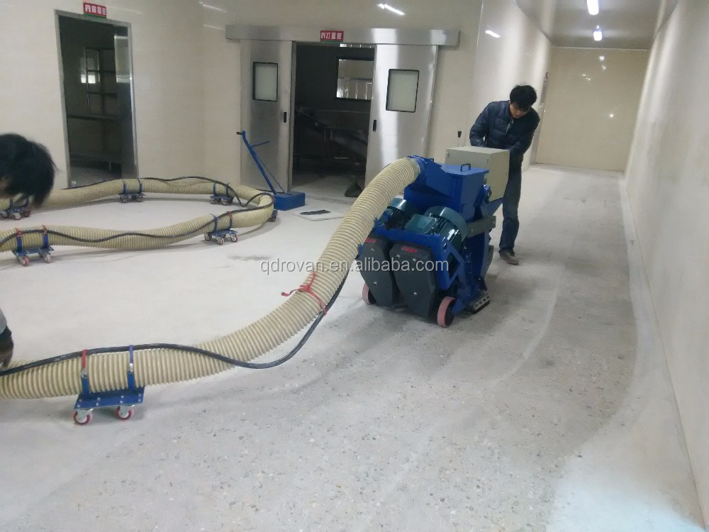 Movable Road Surface Treatment Shot Blasting Machine for Concrete Floor Engineering