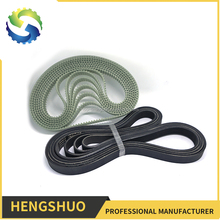 Special processing industrial pu open ended timing belt /timing belt suppliers