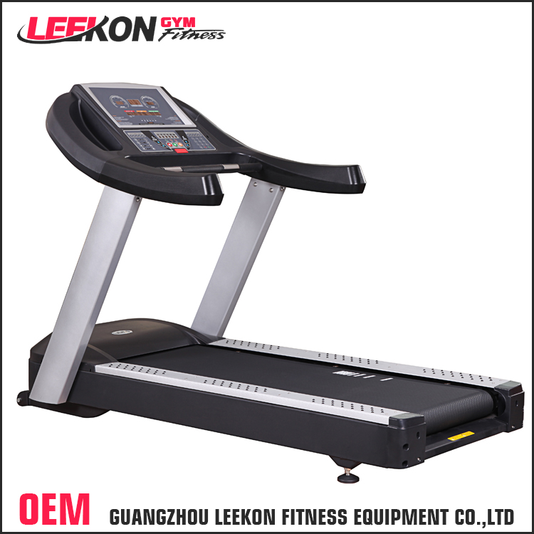 high quality machine 155*54cm running surface power fit deluxe commercial motorized treadmill