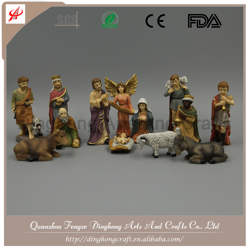 Factory OEM Design Resin Figurines Christmas Decoration European Wholesale Market