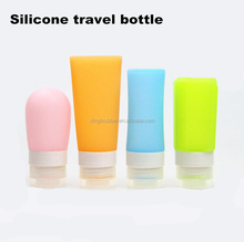 New Fashion refillable Silicone Travel Bottle cosmetic container mini shampoo bottle