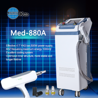 Q switch Nd Yag Laser Eye Pigment Remove Device