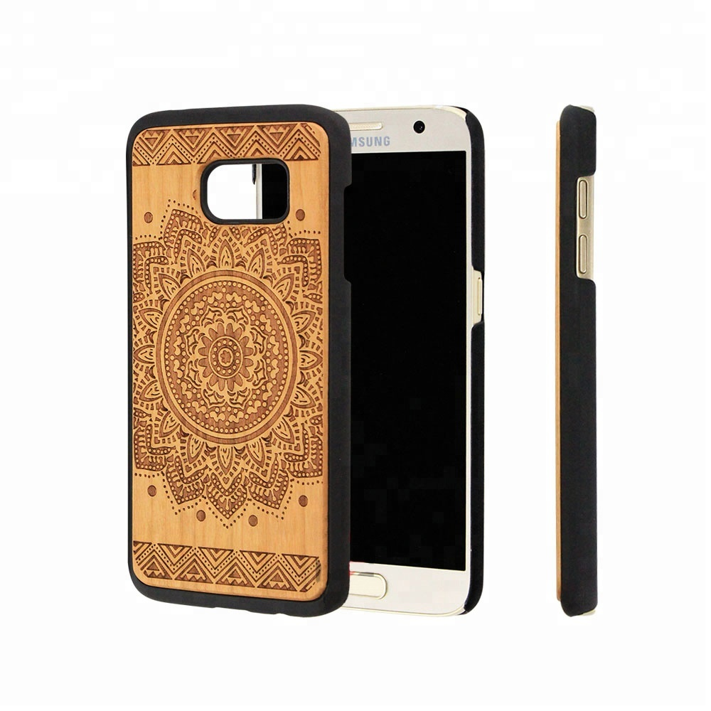 2018 TOP Class Wood Mobile Phone Case and <strong>Accessory</strong> for Samsung Galaxy S7 Wood Cover for Samsung S7 edge