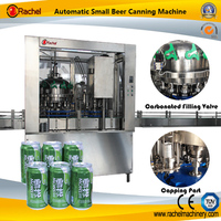 Automatic Carbonated Can Beverage Packaging Machine