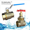 Brass Ball valve and gate valve