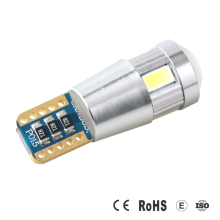 Good Quality automotive Light Interior 360 Degree Beam Angle 5630 6SMD T10 dash light led W5W car interior lamp