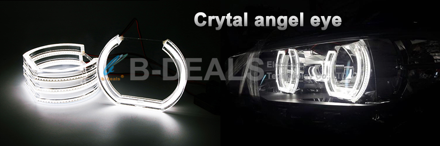 Automobile lamp ccfl angel eyes for mazda 3,ccfl angel eyes headlight