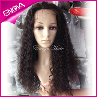 Nice Looking Curly Silk Top Glueless Malaysian Full Lace Wigs