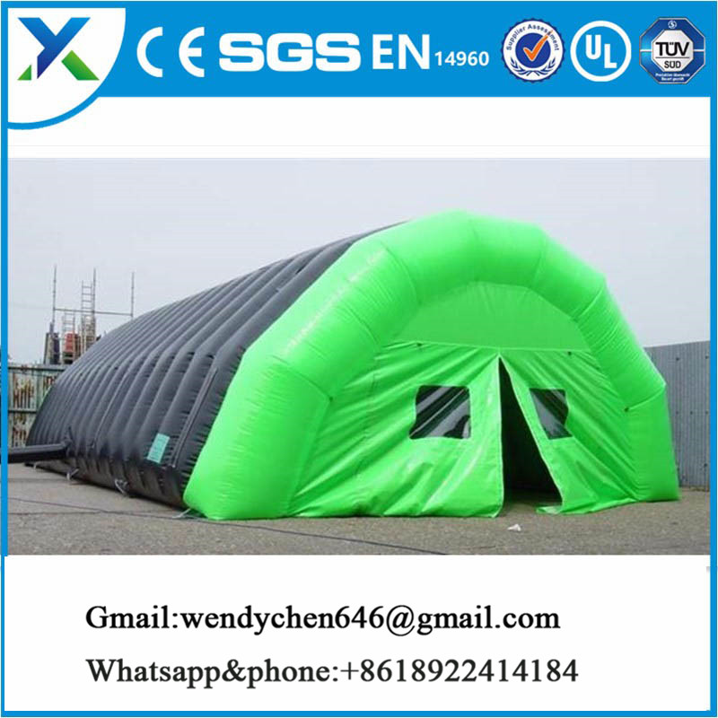 2017 Guangzhou Yue Xuan Eco-friendly inflatable tent warehouse for sale