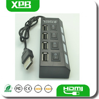 Cheap USB 2.0 Hub Fine Hub 4 Ports Made in China