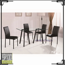 Wrought iron modern french provincial dining room furniture sets