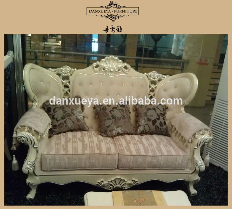 Franc s antiguo sof de madera maciza de estilo neocl sico for Sofa estilo frances