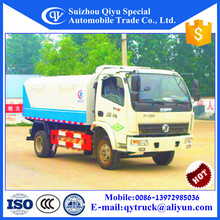 Dongfeng small sealing type garbage truck with 4cbm capacity