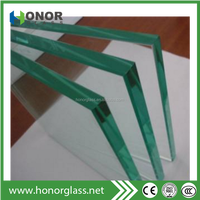 Clear Curved Tempered Glass Bent Panels for Window, Shower Door, Facade, Ceiling
