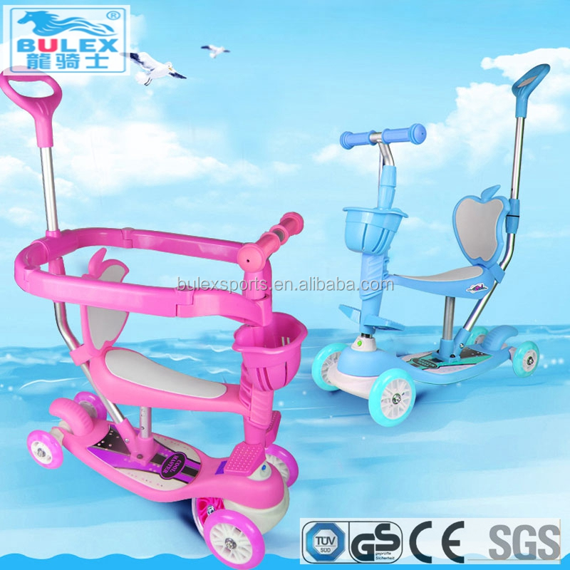 Low price 5 in 1 off road push pro scooter for kids