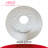 auto spare parts trading companies selling high quality brake disc oem: 43206-ED510