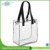 Customized transparent clear PVC zipper bag waterproof Pvc tote bag