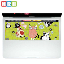 Cartoon Pattern Japanese tpu Keyboard Cover Skin for MacBook Pro 13 15 Retina with Touch Bar A1706 A1707Japan Layout