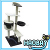 happy pet cat tree & cat bed indoor cat house
